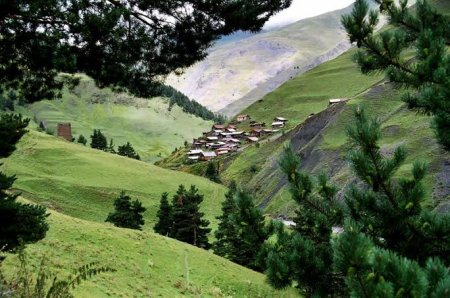 MOUNTAIN LIFE IN TUSHETI